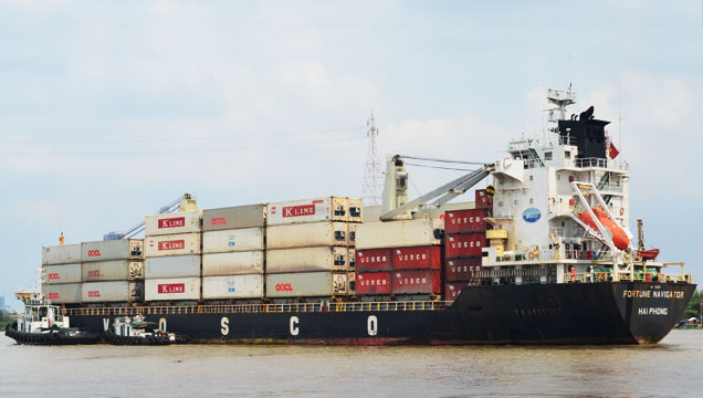 Lịch tàu Container của VINALINES 05.01.2018